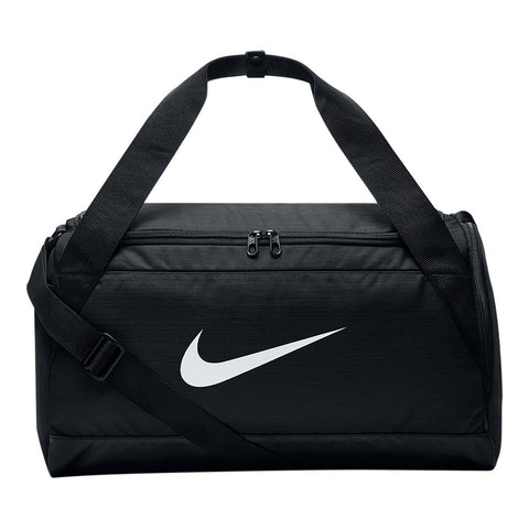 NIKE BRASILIA SMALL DUFFEL BLACK/WHITE