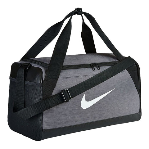 NIKE BRASILIA SMALL DUFFEL GREY/BLACK
