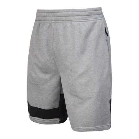 UNDER ARMOUR MEN'S TECH TERRY SHORT GREY