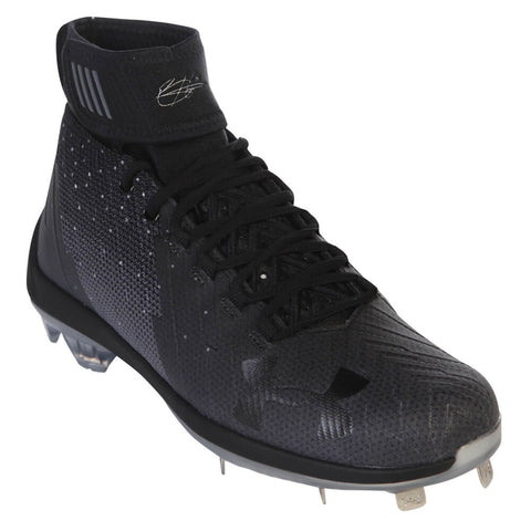 UNDER ARMOUR MEN'S HARPER 2 MID ST BLACK METAL BASEBALL CLEAT