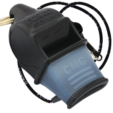 FOX 40 SONIK WHISTLE BLACK