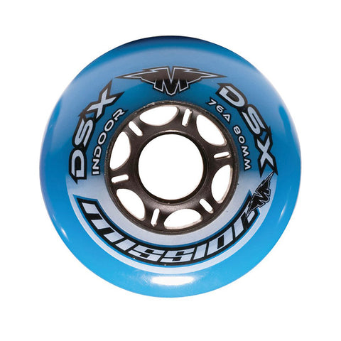 MISSION DSX INDOOR 4PK REPLACEMENT WHEELS  59MM-76A