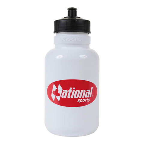 NATIONAL SPORTS 1L PULL TOP WATER BOTTLE WHITE