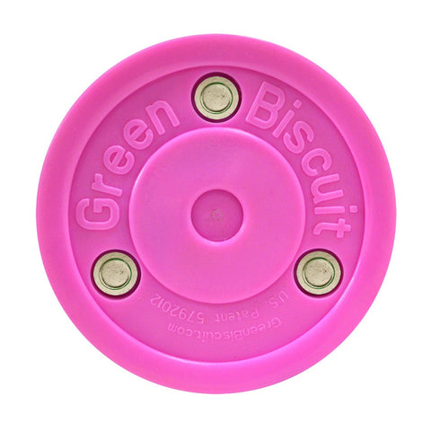 GREEN BISCUIT OFF ICE TRAINING PUCK PINK