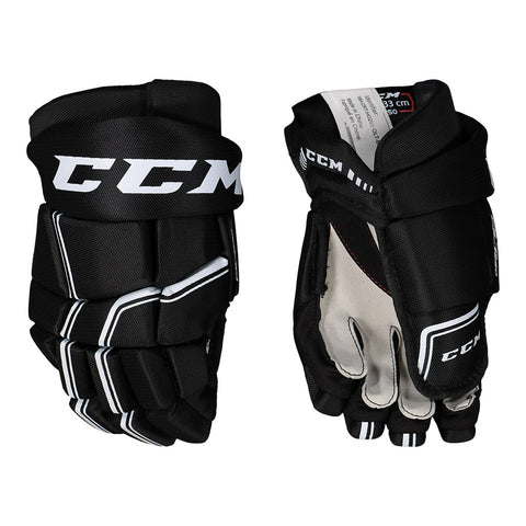 CCM QLT 250 SR HOCKEY GLOVES 13 INCH BLACK