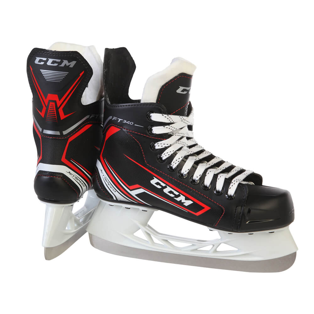4f3aabe4247 CCM JETSPEED FT340 JR HOCKEY SKATES D WIDTH – National Sports