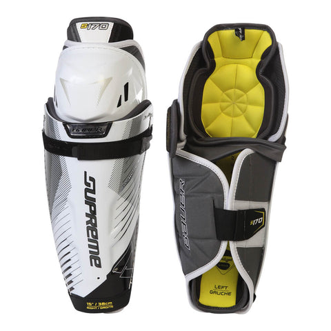 BAUER SUPREME S170 SR SHIN GUARDS