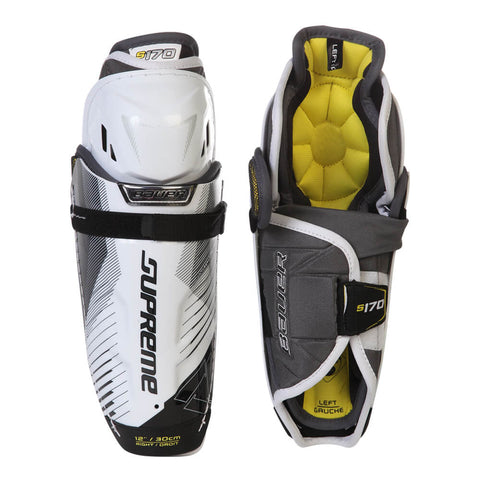 BAUER SUPREME S170 JR SHIN GUARDS