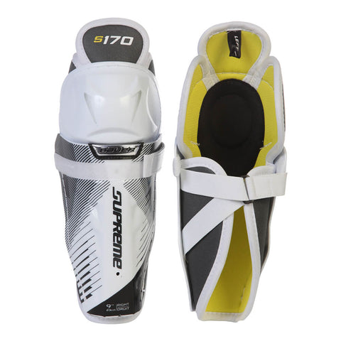 BAUER SUPREME S170 YTH SHIN GUARDS
