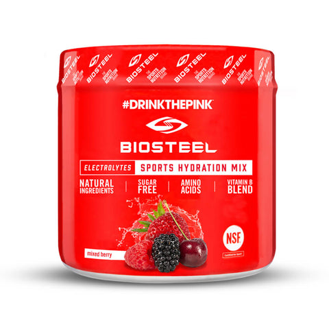 BIOSTEEL HPS MIX TUB MIXED BERRY 140G
