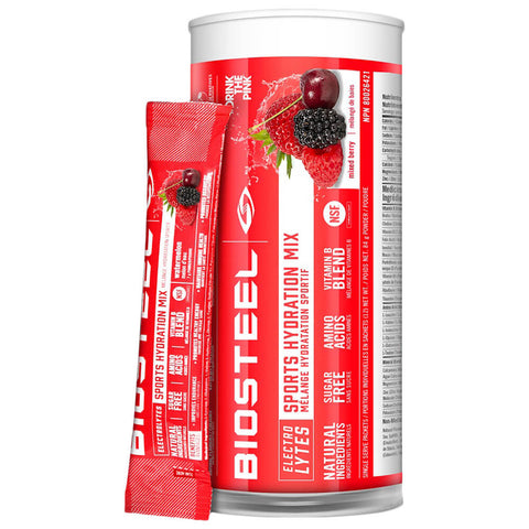BIOSTEEL HPS MIX TUBE MIXED BERRY (12)