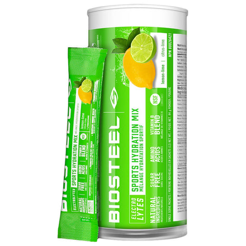 BIOSTEEL HPS MIX TUBE LEMON LIME (12)