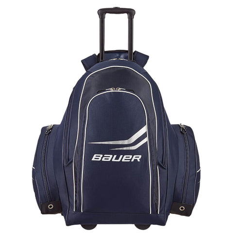 BAUER PREMIUM WHEEL BACKPACK HOCKEY BAG LARGE NAVY