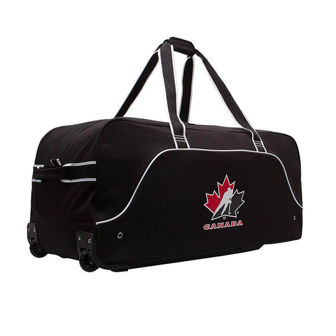 HOCKEY CANADA 36 INCH WHEEL HOCKEY BAG BLACK