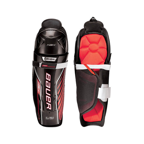 BAUER NSX JR SHIN GUARDS