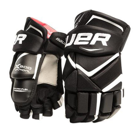 BAUER VAPOR X800 LITE SR HOCKEY GLOVES BLACK
