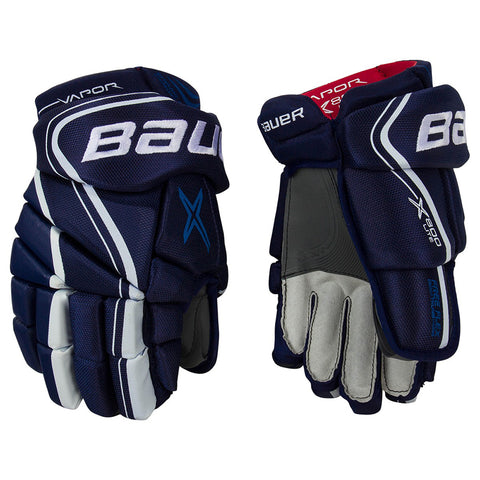 BAUER VAPOR X800 LITE SR HOCKEY GLOVES NAVY