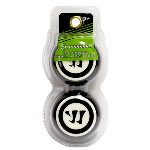 414412 WARRIOR SPORTS FOAM MINI PUCK 2PK