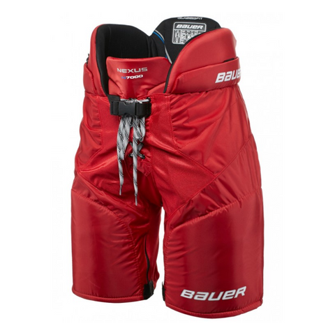 BAUER NEXUS N7000 SR HOCKEY PANTS RED