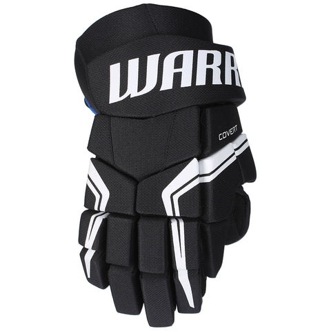 WARRIOR COVERT QRE 5 SR HOCKEY GLOVES BLACK