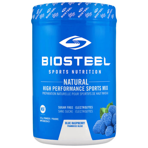 BIOSTEEL HPS MIX TUB BLUE RASPBERRY 315G