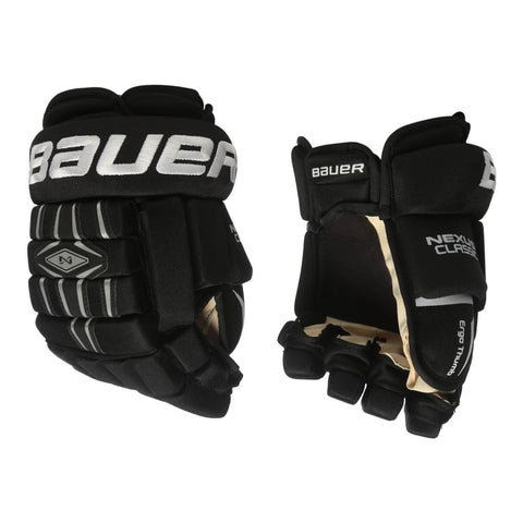 BAUER NEXUS CLASSIC SR HOCKEY GLOVES BLACK