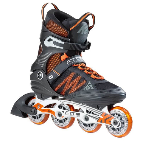 K2 FIT 80 ALUMINUM MEN'S INLINE SKATES