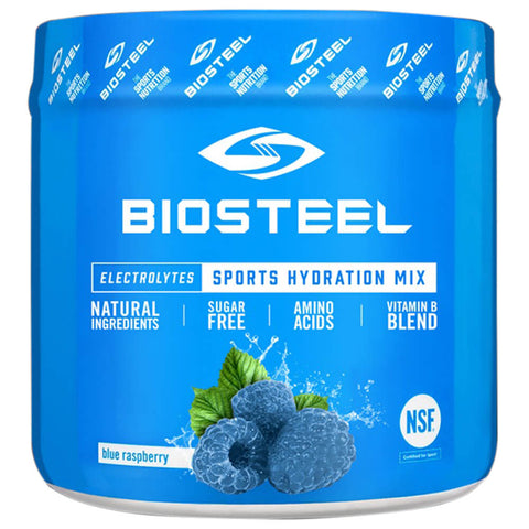BIOSTEEL HPS MIX TUB BLUE RASPBERRY 140G