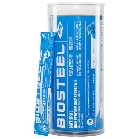 BIOSTEEL HPS MIX TUBE BLUE RASPBERRY (12)