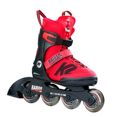 K2 RAIDER PRO BOYS' ADJUSTABLE INLINE SKATES SIZES 4-8