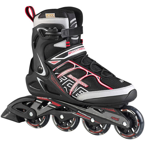 ROLLERBLADE SIRIO 80 ST MEN'S INLINE SKATES BLACK/RED