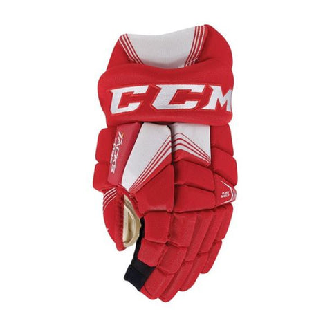 CCM 7092 JR HOCKEY GLOVES RED