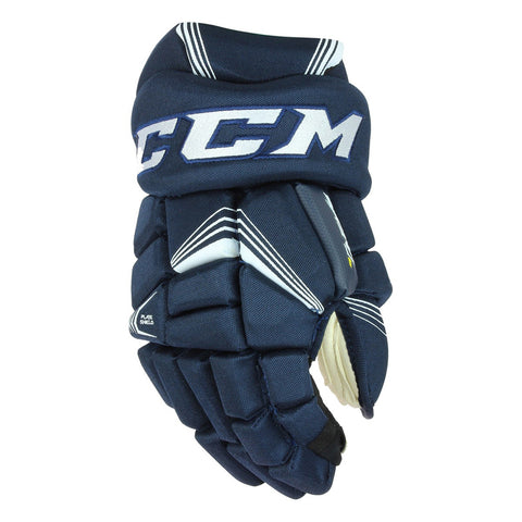 CCM TACKS 7092 SR HOCKEY GLOVES NAVY