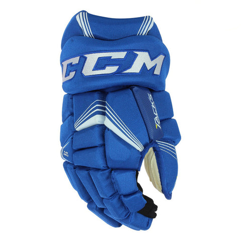 CCM TACKS 7092 SR HOCKEY GLOVES ROYAL