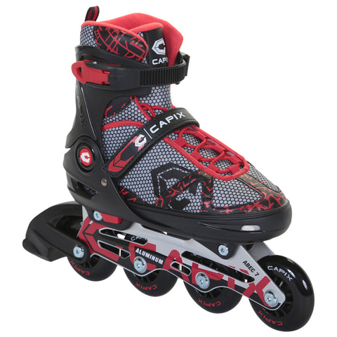 CAPIX B3 BOYS' ADJUSTABLE INLINE SKATES SIZE 5-8