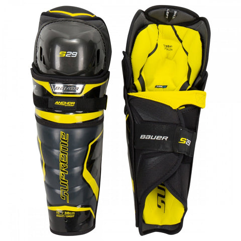 BAUER SUPREME S29 JR SHIN GUARDS