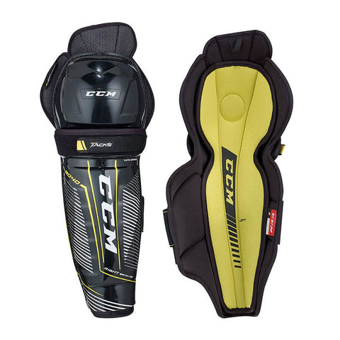 CCM TACKS 9040 JR SHIN GUARDS