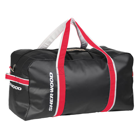 SHERWOOD PRO HOCKEY CARRY BAG 33 INCH BLACK/RED