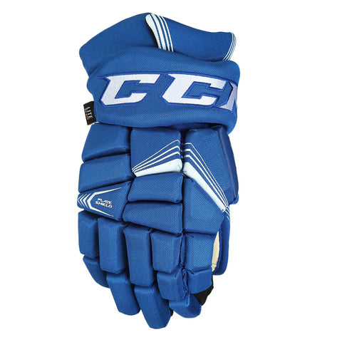 CCM 7092 JR HOCKEY GLOVES ROYAL