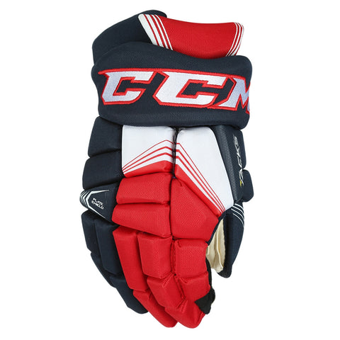 CCM 7092 JR HOCKEY GLOVES NAVY/RED/WHITE