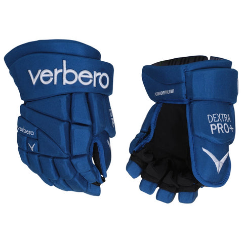 VERBERO DEXTRA PRO+ SR HOCKEY GLOVES ROYAL