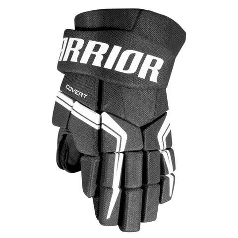 WARRIOR COVERT QRE 5 JR HOCKEY GLOVES BLACK
