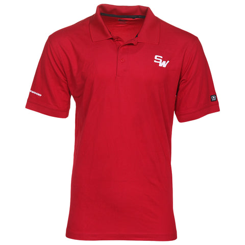 SHERWOOD MENS POLO RED