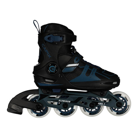 CAPIX APACHE BOYS ADJUSTABLE INLINE SKATES SIZES 10-13