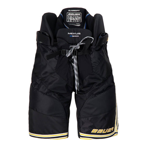 BAUER NEXUS N9000 SR HOCKEY PANTS BLACK/GOLD