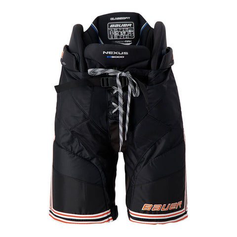 BAUER NEXUS N9000 SR HOCKEY PANTS BLACK/ORANGE