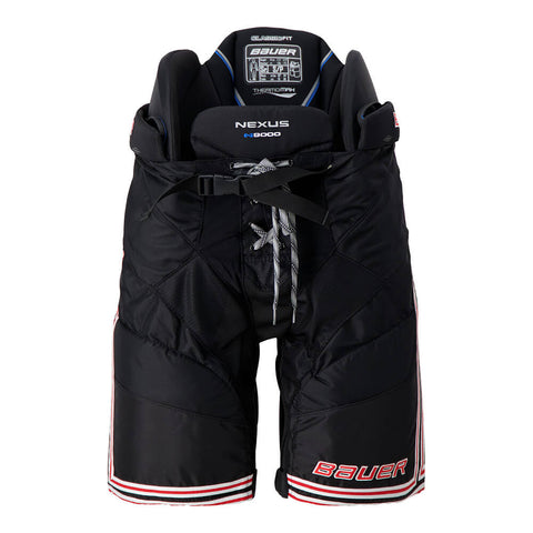 BAUER NEXUS N9000 SR HOCKEY PANTS BLACK/RED
