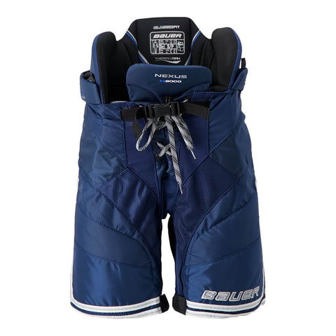 BAUER NEXUS N9000 SR HOCKEY PANTS NAVY/SILVER