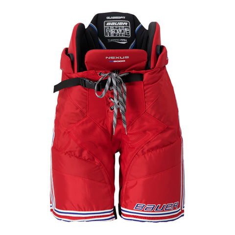 BAUER NEXUS N9000 SR HOCKEY PANTS RED/NAVY