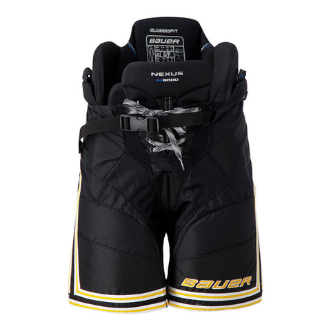 BAUER NEXUS N9000 JR HOCKEY PANTS BLACK/GOLD